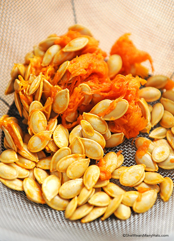 Spicy Toasted Pumpkin Seeds Recipe