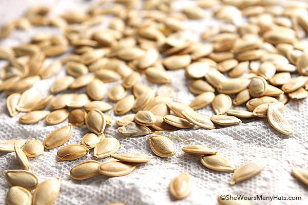 How to Toast Pumpkins Seeds