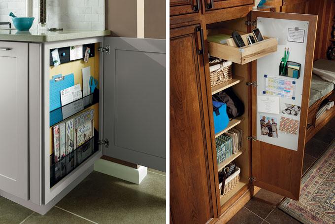 Message Center For Kitchen Design Ideas