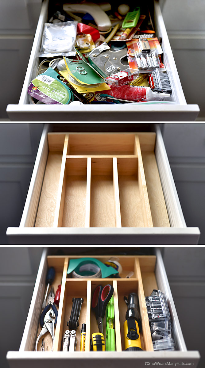 Organizing Before And After: Tackling The Junk Drawer (+ Giveaway Winner!)