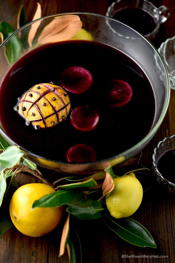 Festive Mulled Wine Recipe