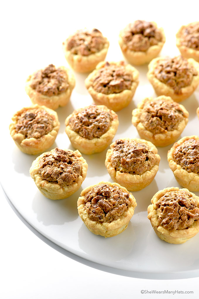 Pecan Tassies are like mini pecan pies and so perfect for a sweet ...