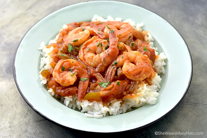 Shrimp Creole Recipe | She Wears Many Hats