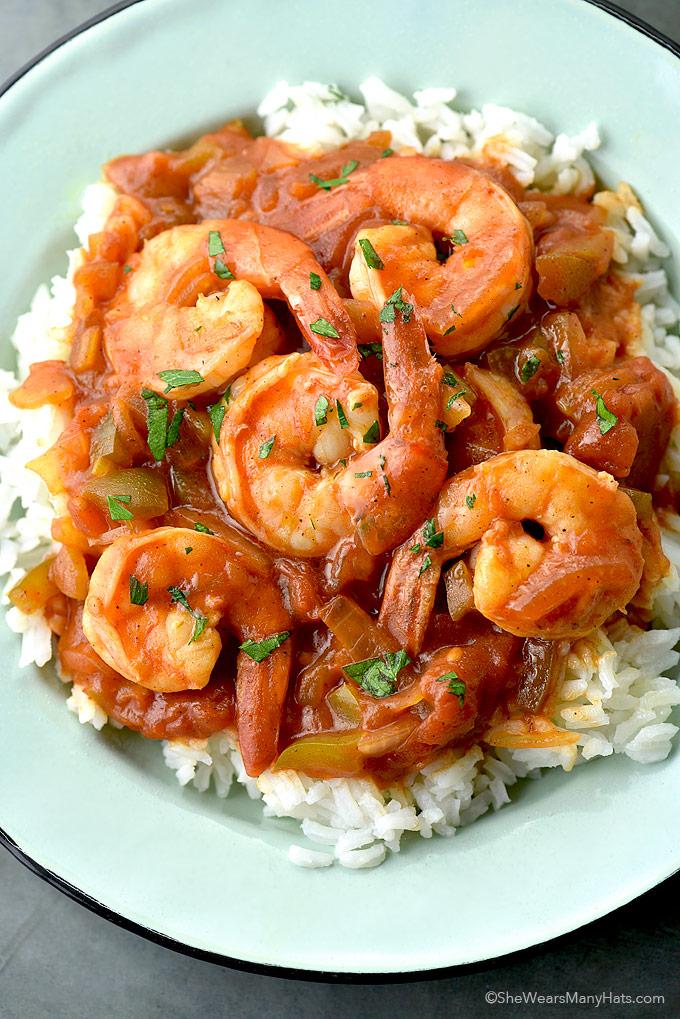 Shrimp Creole Recipe | She Wears Many Hats