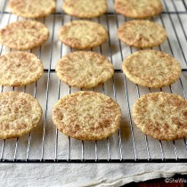 Snickerdoodles Cookie Recipe from shewearsmanyhats.com