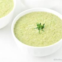 East Bay Broccoli Bisque Recipe | shewearsmanyhats.com