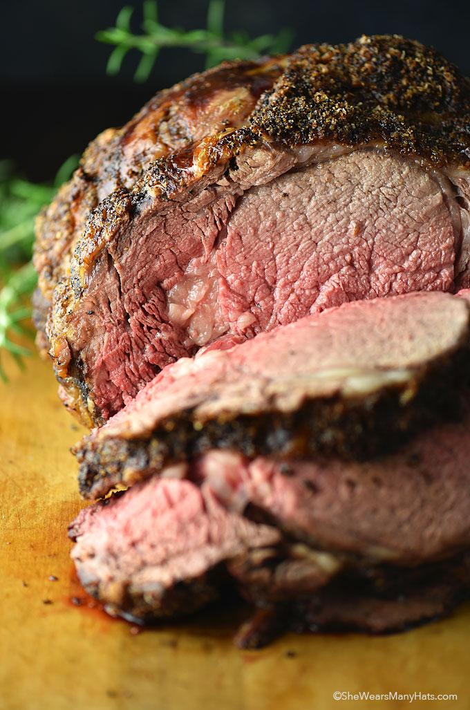 Prime Rib Roast Recipe | She Wears Many Hats