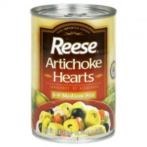 canned artichoke hearts