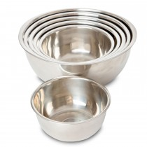 stainless mixing bowls