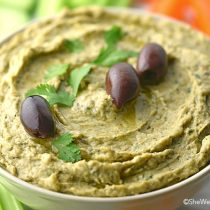 Easy Baba Ghanoush Recipe | shewearsmanyhats.com
