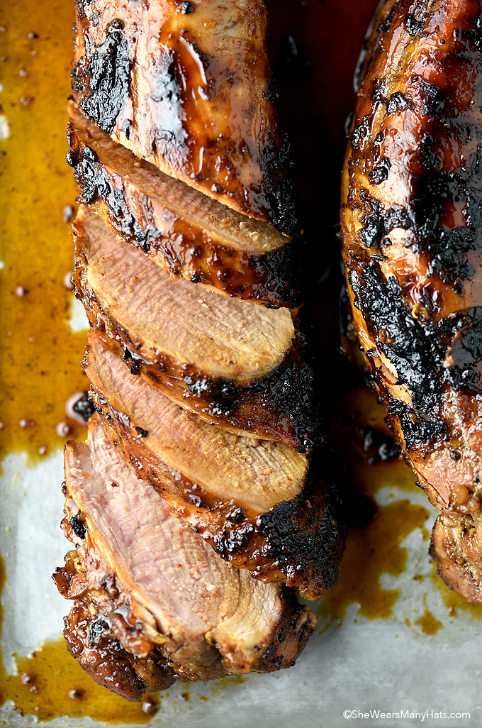 Honey Soy Glazed Pork Tenderloin Recipe Shewearsmanyhats