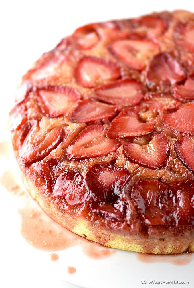 Easy strawberry cake recipes