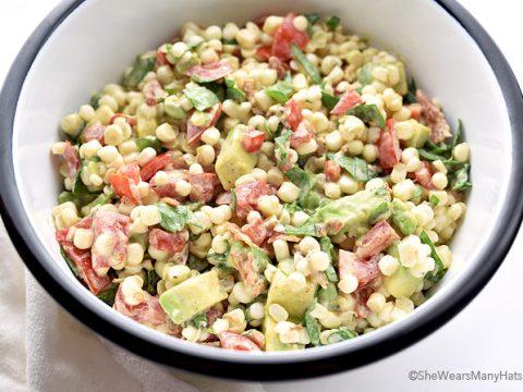 Corn Salad Recipe With Avocado