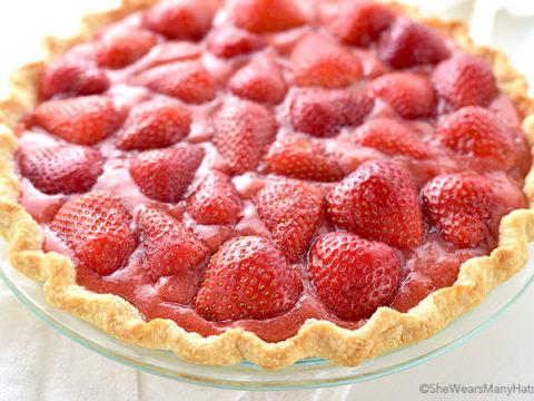 Fresh Strawberry Pie Recipe She Wears Many Hats