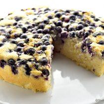 Lemon Blueberry Buttermilk Cake Recipe | shewearsmanyhats.com