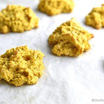 Pumpkin Sage Drop Biscuits Recipe | shewearsmanyhats.com