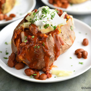 Spicy Loaded Baked Potato Recipe
