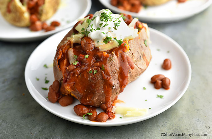 Easy Spicy Loaded Baked Potato Recipe