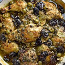 Chicken Marbella Recipe | shewearsmanyhats.com