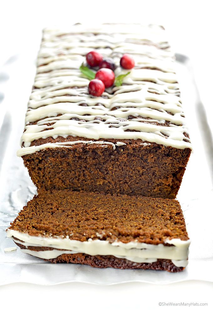 Homemade Gingerbread Loaf Recipe