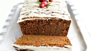 Homemade Gingerbread Loaf Recipe | shewearsmanyhats.com