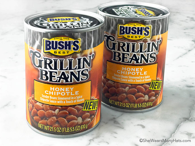 bush's honey chipotle grillin beans