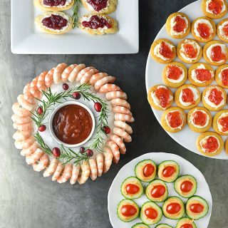 Easy Holiday Appetizers | shewearsmanyhats.com