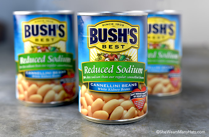 reduced sodium Bush's Beans cannellini beans