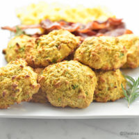 Sweet Potato Cheddar Drop Biscuits Recipe