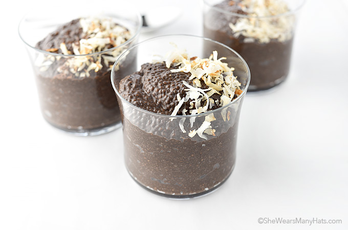 chocolate chia pudding recipe she wears many hats