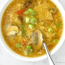 Easy Hot and Sour Soup Recipe | shewearsmanyhats.com