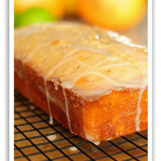 Grapefruit and Lime Cake with a Citrus Glaze